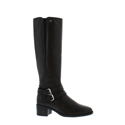 Azaria Black Knee-High Boots