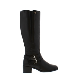 Carl Scarpa Azaria Black Knee-High Boots