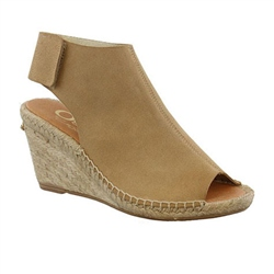 Carl Scarpa Blaine Taupe suede Sandals