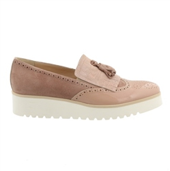 Carl Scarpa Rose Flatform Slip-On Fringe Tassel Loafers - Ornella