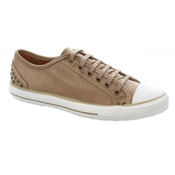 Carl Scarpa Beige Lace Up Leisure Shoes Carina