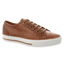 Carl Scarpa Tan Lace Up Leisure Shoes - Carlotta