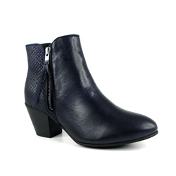 Carl Scarpa Daniela  Navy  Ankle Boots