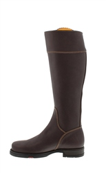 Natasha Brown Water-Resistant Country Boots - Slim Fit