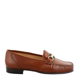 Carl Scarpa Giana Tan Snaffle Loafers