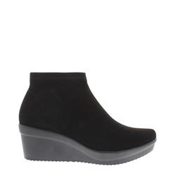 b3302485efaa Carl Scarpa Luma Black Ankle Boots