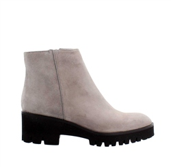 Carl Scarpa Grey Wedge Ankle Boots - Safira