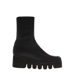 Carl Scarpa Alta Black Wedge Ankle Boots