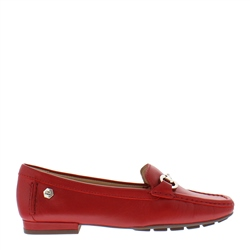 Carl Scarpa Beila Red Snaffel Loafers