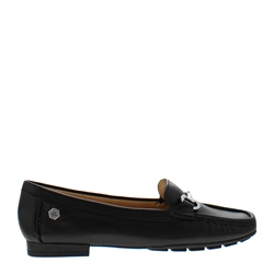 Carl Scarpa Beila Black Loafers