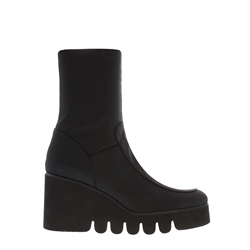 Carl Scarpa Black Wedge Ankle Boots - Alban