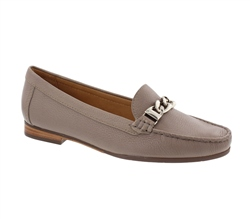 Carl Scarpa Taupe Snaffel Loafers - Nellie
