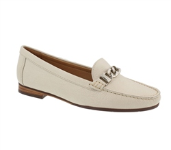 Carl Scarpa White Snaffel Loafers - Nellie