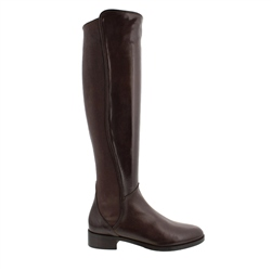 Carl Scarpa Emma Brown Leather Knee-High Boots