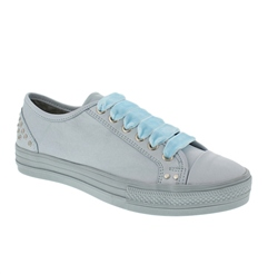 Carl Scarpa Powder Blue Lace Up Leisure Shoes - Carlotta