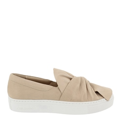 Carl Scarpa Ellie Beige Slip-On Trainers