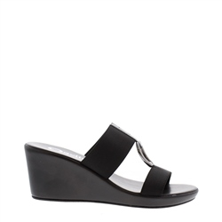 Carl Scarpa Delanna Black  Sandals