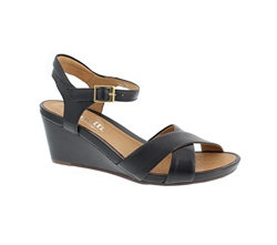 Carl Scarpa Ophelia Navy Sandals