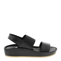 Carl Scarpa Sheila Black Sandals