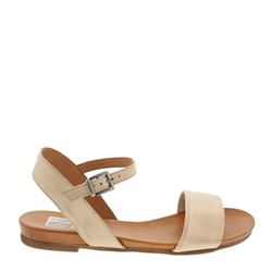 Carl Scarpa Tianna Beige Leather Sandals