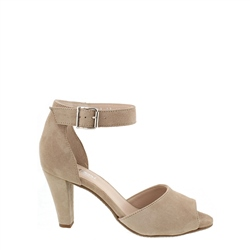 Carl Scarpa Denise Taupe Suede Courts
