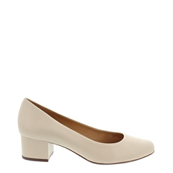 Carl Scarpa Yolanda Beige Court Shoes