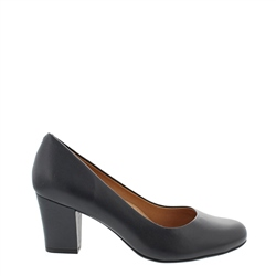 Carl Scarpa Yvonne Navy Court Shoes