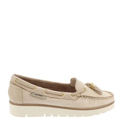 Roxie Beige Loafers