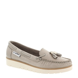 Roxie Grey Loafers