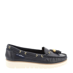 Carl Scarpa Roxie Navy Loafers