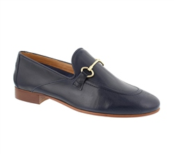 Carl Scarpa Valentina Navy Loafers