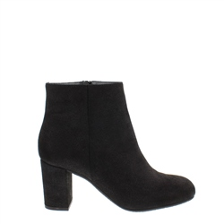 Carl Scarpa Antonia Black Lustre Ankle Boots