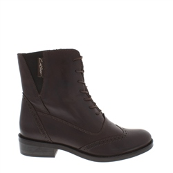 Carl Scarpa Ingrid Brown Ankle Boot