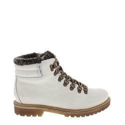 Carl Scarpa Pedrina Off-White Winter Boots