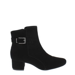 Carl Scarpa Ashley Black Suede Ankle Boots