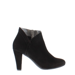 Carl Scarpa Betania Black High Heel Ankle Boots