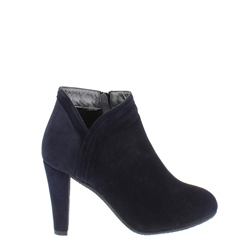 Carl Scarpa Betania Navy High Heel Ankle Boots