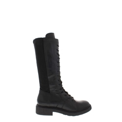 Carl Scarpa Anthea Black Leather Boot