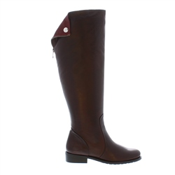 Carl Scarpa Arabella Brown Leather Boots