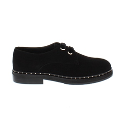 Carl Scarpa Alexandria Black Suede Loafers