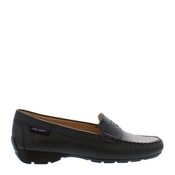 Carl Scarpa Alicia Black Leather Loafers