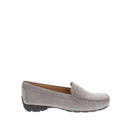 Carl Scarpa - Ireland Alicia Pewter Python Loafers