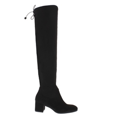 Carl Scarpa Taliah Black Over-The-Knee Boots