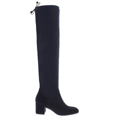 Carl Scarpa Taliah Navy Over-The-Knee Boots
