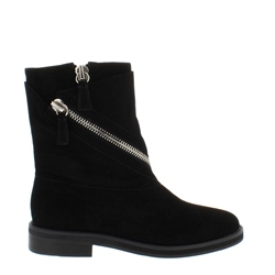 Carl Scarpa Dayana Black Suede Ankle Boots