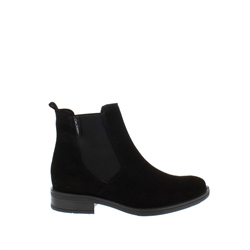 Carl Scarpa Juliana Black Suede Ankle Boots