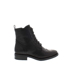 Carl Scarpa Juliette Black Leather Ankle Boots