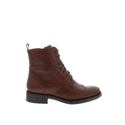Carl Scarpa Juliette Tan Leather Ankle Boots