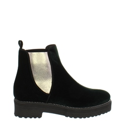 Carl Scarpa Reese Green Velvet Ankle Boot