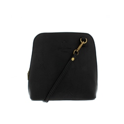 Carl Scarpa Renata Black Leather Bag